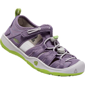 Keen Moxie Sandals Kids Purple Sage/Greenery
